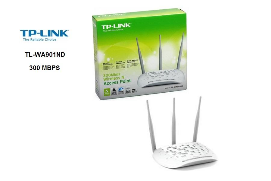 TP-Link TL-WA901ND 300 MBPS  N-3 ANTENAS