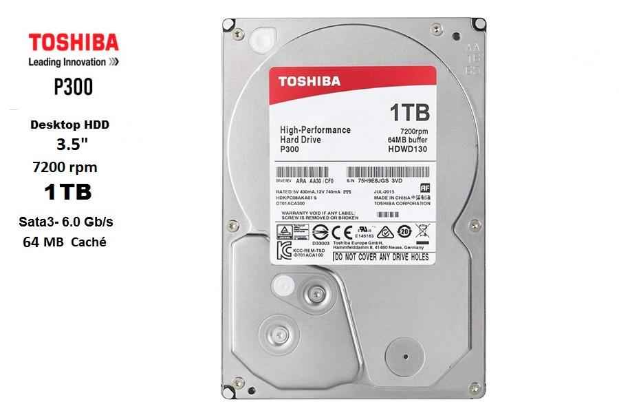 Toshiba 1 TB SATA3 7200 rpm