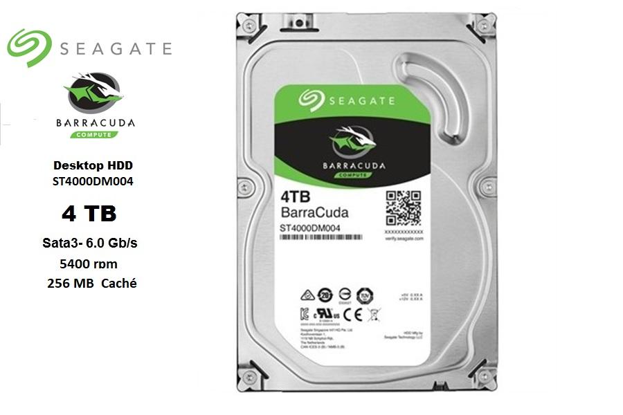 Seagate 4 TB SATA3 5400 rpm