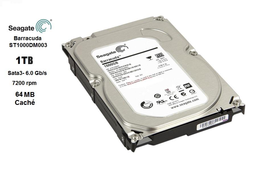 Seagate 1 TB  SATA3 7200 rpm