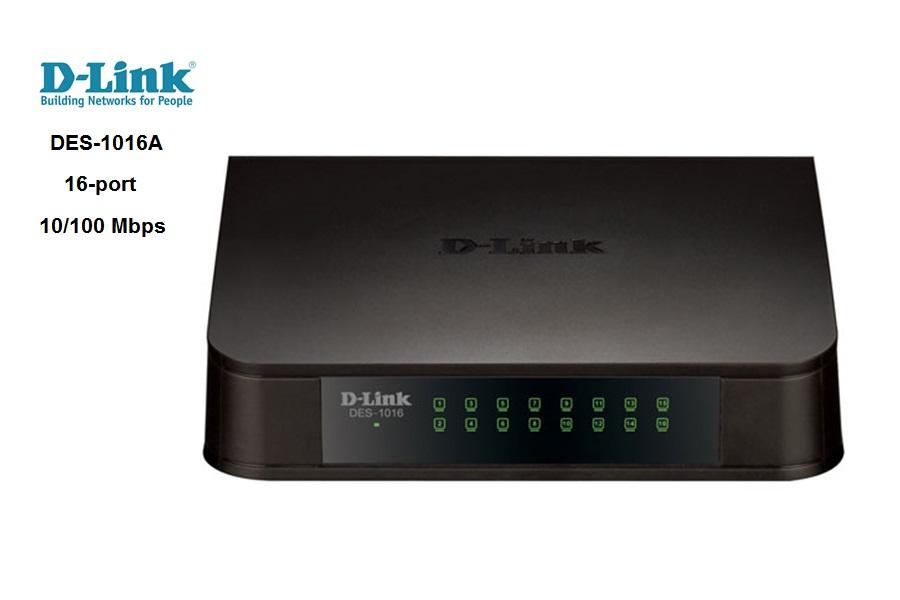 Switch D-Link DES-1016A 16 Puertos