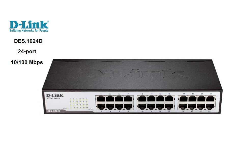 Switch D-Link DES-1024D 24 Puertos