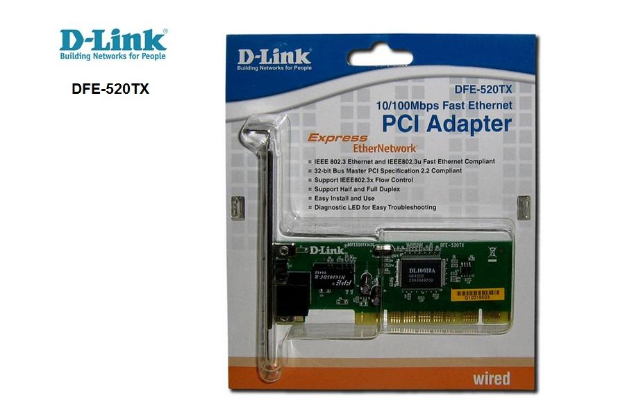 D-Link DFE-520TX 10/100 PCI
