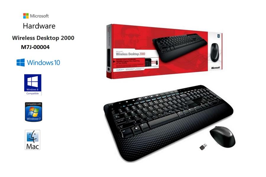Microsoft Teclado + Mouse Wireless 2000