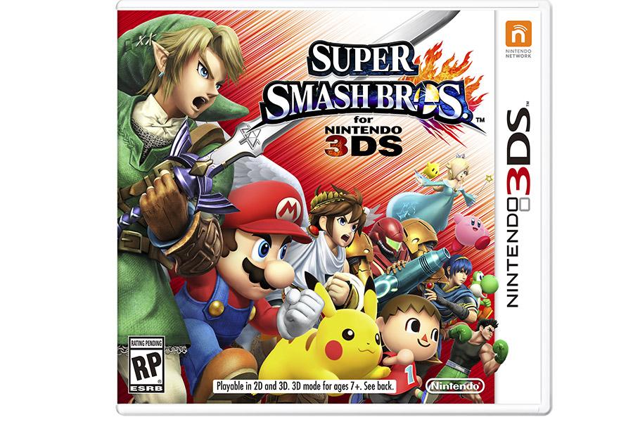 Juego 3DS Super Smash Bros
