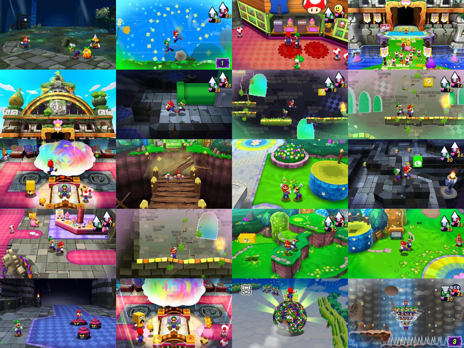 JUEGO 3DS MARIO AND LUIGI DREAM TEAM