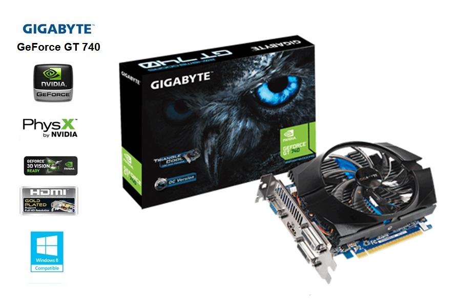 Gigabyte GeForce GT 740  2GB / GDDR5 / 128-bit