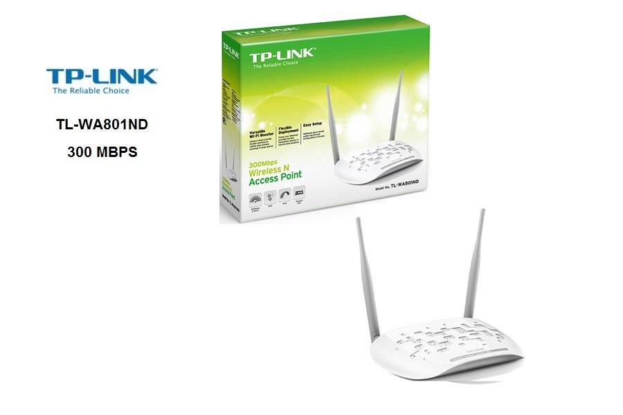 TP-Link TLWA801ND  300 MBPS  N-2 ANTENAS