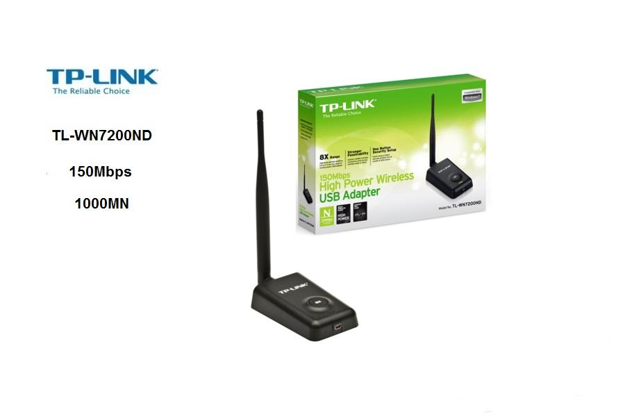 TP-Link TL-WN7200ND  USB 150 Mbps