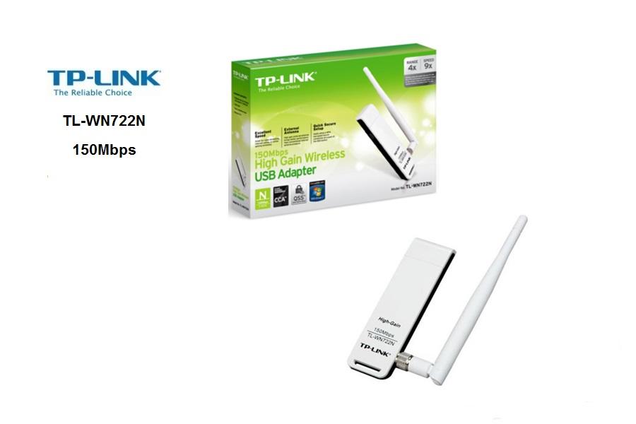 TP-Link TL-WN722N  USB 150Mbps