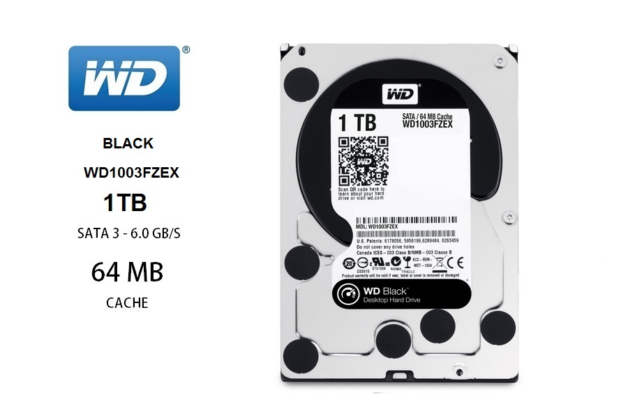 Western Digital Black  1TB / WD1003FZEX