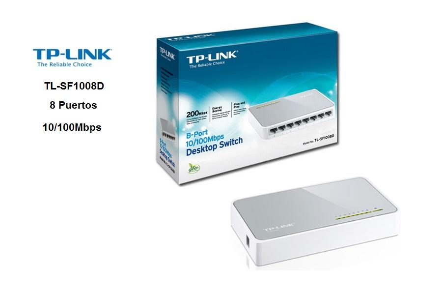 Switchs TP-Link TL-SF1008D 8 Puertos
