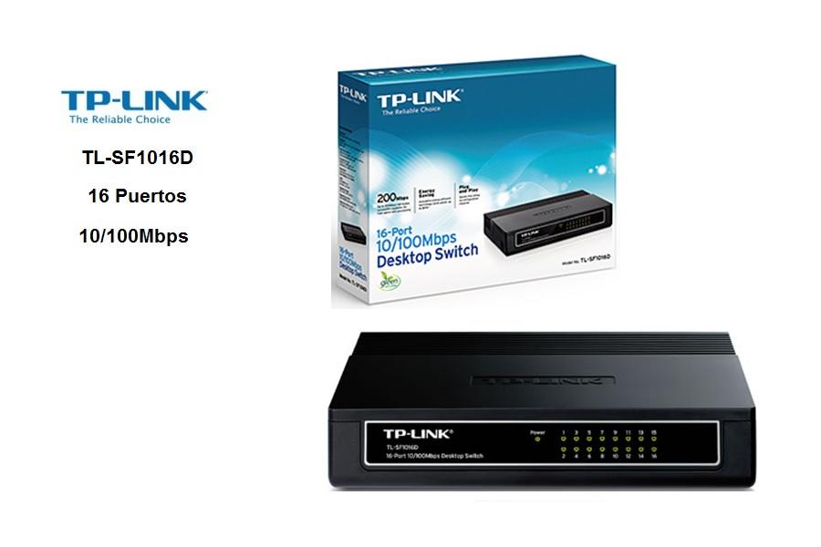 Switchs TP-Link TL-SF1016D 16 Puertos