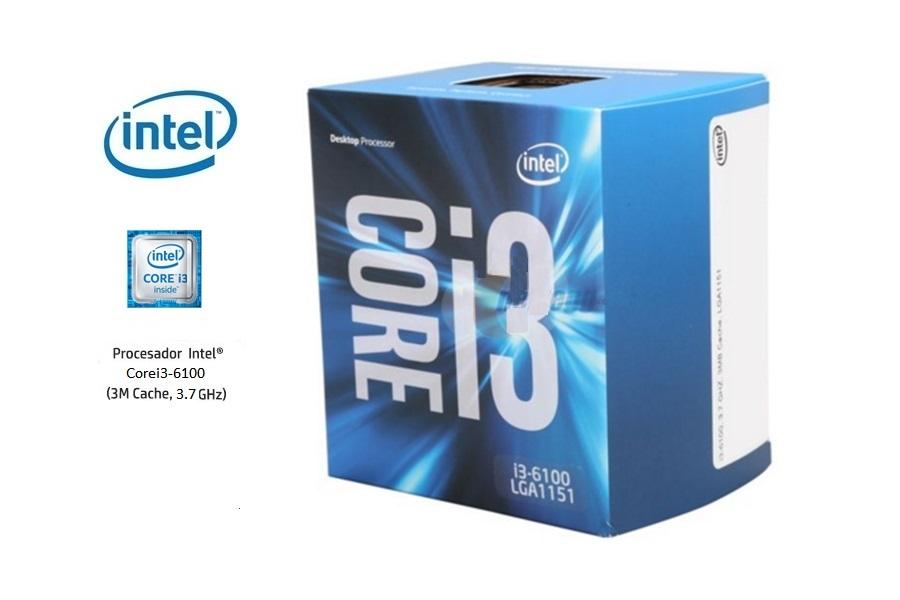 Intel Corei3-6100 3.7 Ghz (6º G)