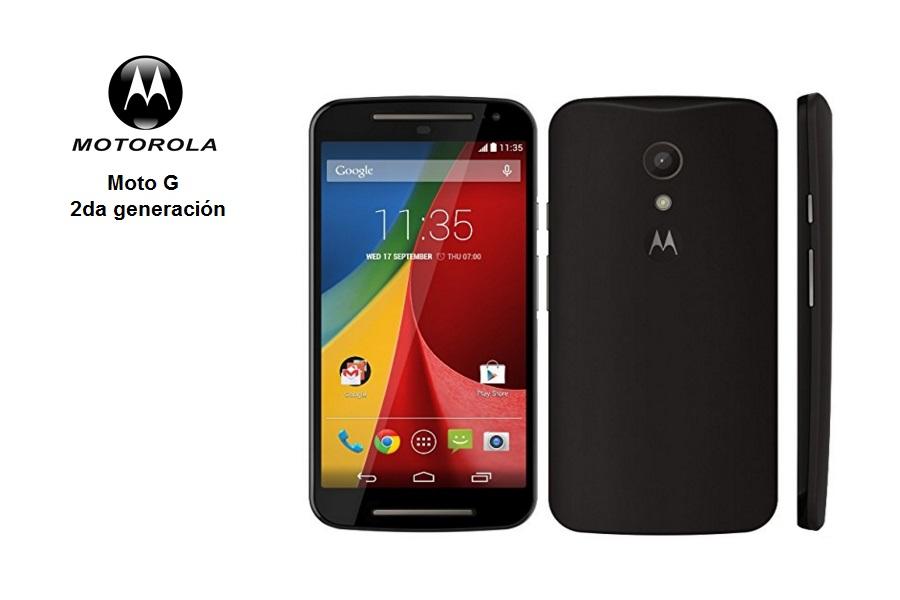 Motorola Moto G 2da generación, 5″ Touch 1280×720, Android 4.4, Desbloqueado.