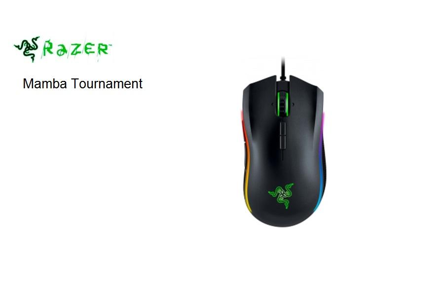 Razer Mamba Tournament Edition Gaming USB Black