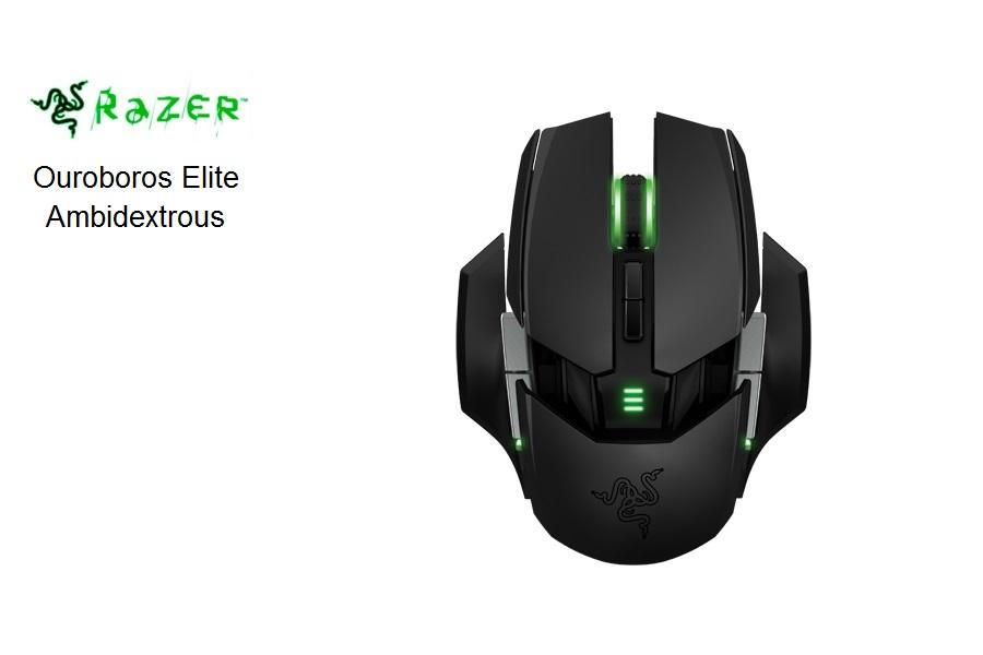 Razer Ouroboros Elite Ambidextrous Gaming USB Black