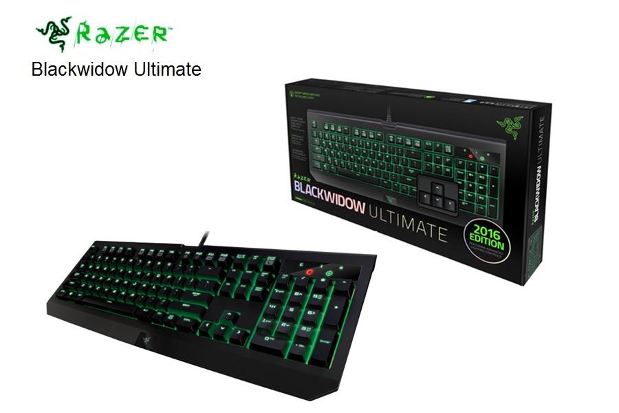 Razer Blackwidow Ultimate Gaming Black  USB