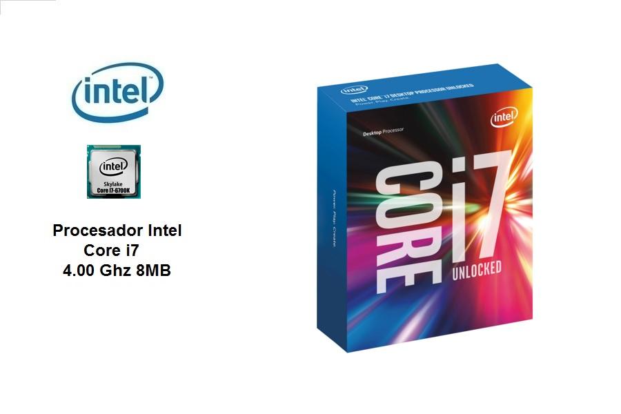 Intel Core I7-6700K 4.0 Ghz