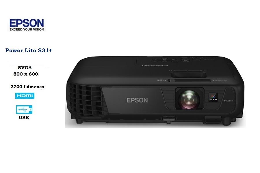 Epson PowerLite S31+ 3200L / SVGA 800 x600