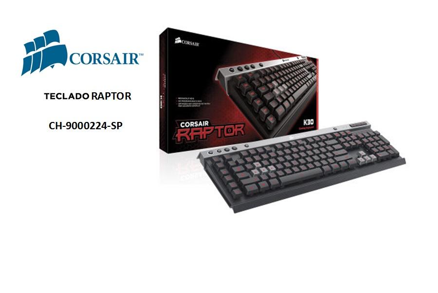 Corsair Gamer Raptor K30 Español