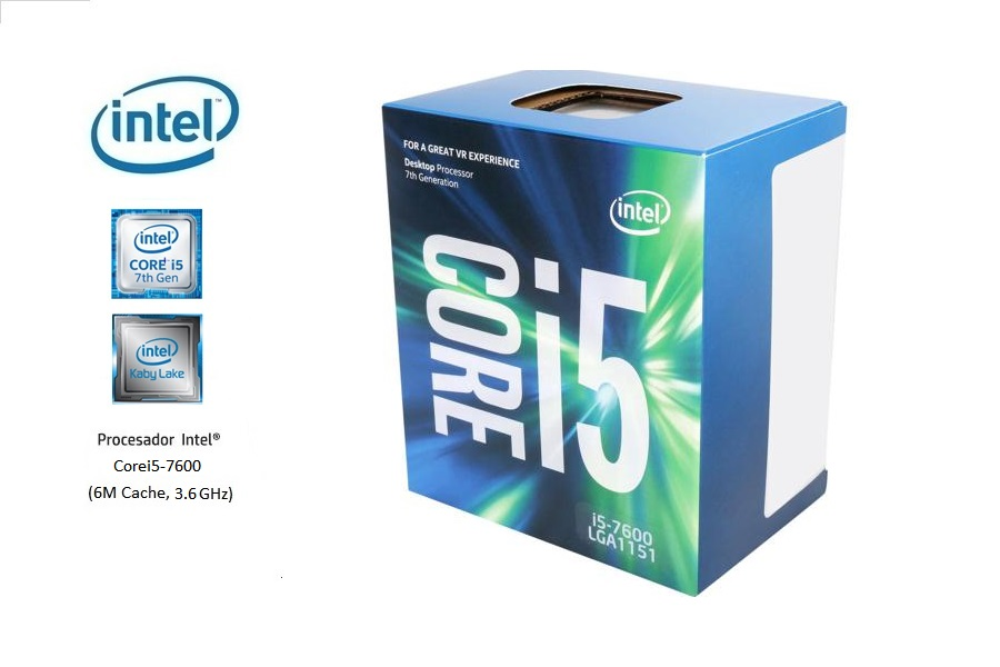 Intel Corei5-7600 3.5 Ghz (7º G)