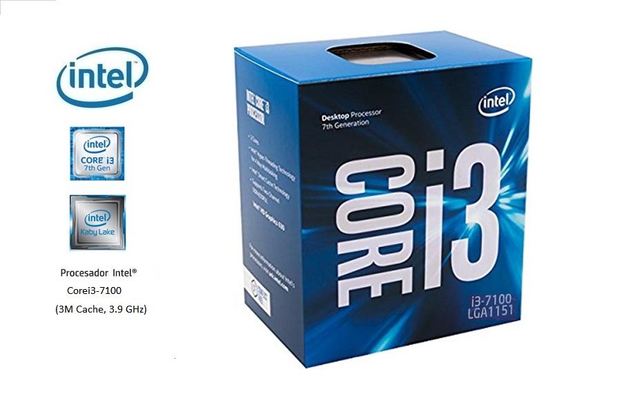 Intel Corei3-7100 3.90 Ghz