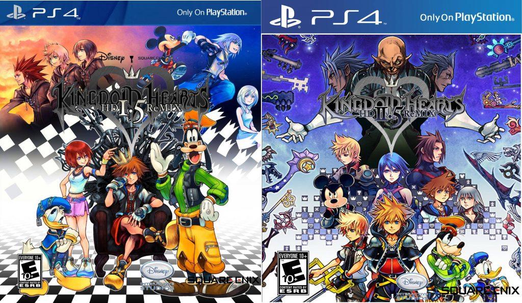 Kingdom Heart PS4 1.5 + 2.5 ReMIX